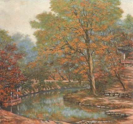 Бьюн Ши Джи. Пейзаж 7