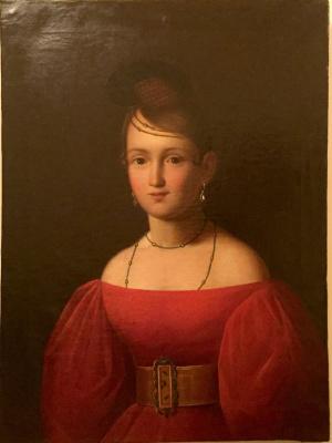 Portrait Of Trubnikova