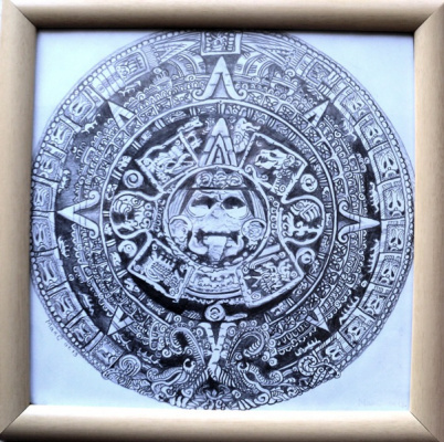 """Svetlana Makarova. Calendar """"The Mayan"""""""