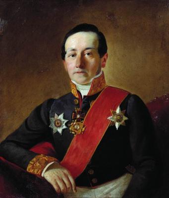 Sergey Konstantinovich Zaryanka. Portrait of a dignitary
