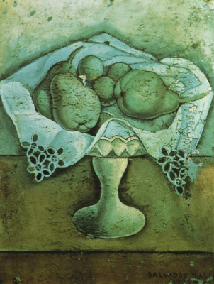 Salvador Dali. Still life