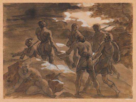 Théodore Géricault. Death of Phalaldes