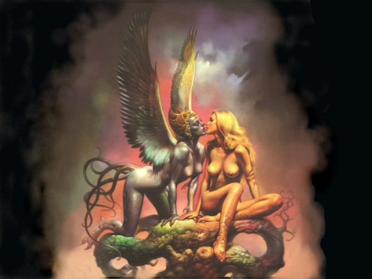 Boris Vallejo (Valeggio). Women's Mirage