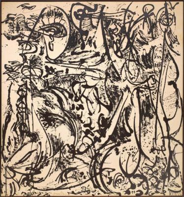 Jackson Pollock. Echo number 25, 1951