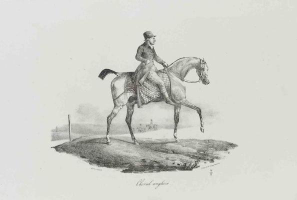 Théodore Géricault. English jockey