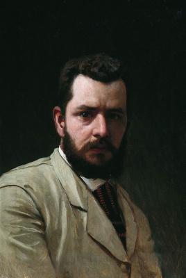 Александр Павлович Брюллов. Автопортрет. 1880-е