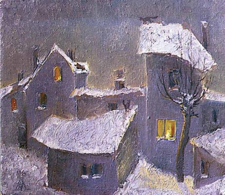 Andrey Meshchanov. Architectonics of winter