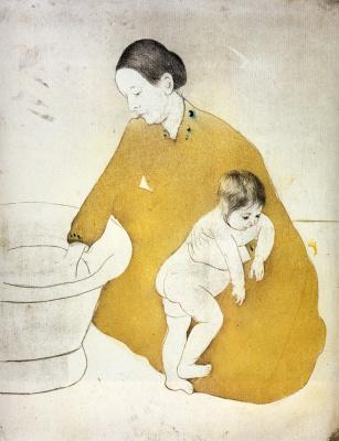 Мэри Кассат. Ванна
