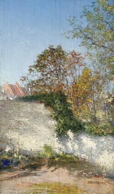 Иван Павлович Похитонов. Garden corner