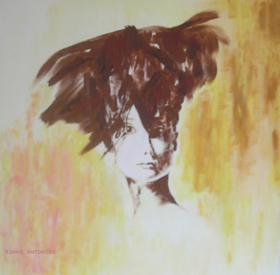 Жанна Антонова. Портрет О́дри Хе́пбёрн, Audrey Hepburn