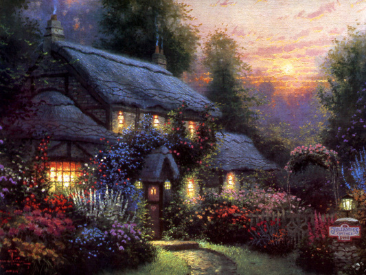 Thomas Kincaid. Julianne's Cottage