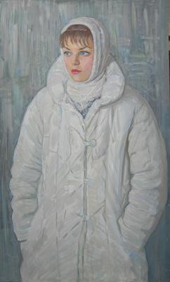 Eugene Alexandrovich Kazantsev. Portrait of Larisa Smirnova.