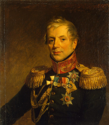 George Dow. Portrait of Peter Petrovich Konovnitsyn