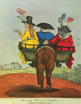 Генри Уильям Сен Пьер Банбери. Я с женой и дочерью