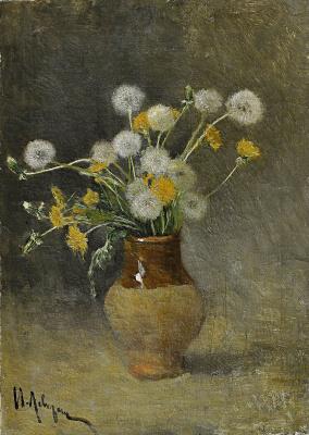 Isaac Levitan. Dandelions