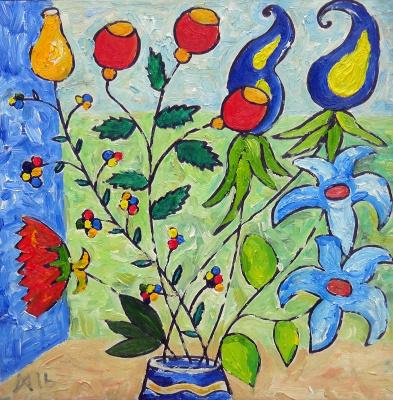 Мурад Халилов. Flowers in the wind