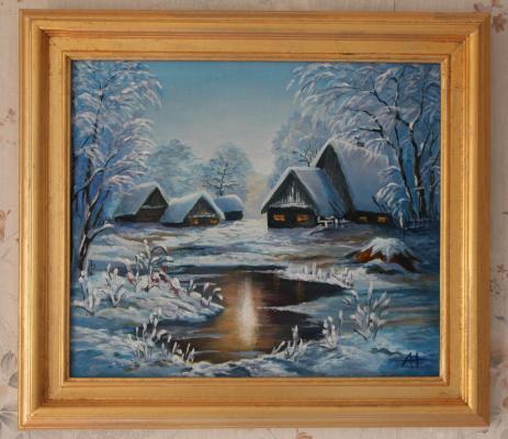 Alina Nesterova. Winter