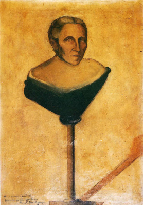 Marcel Duchamp. Portrait of the mother of Gustave Candel