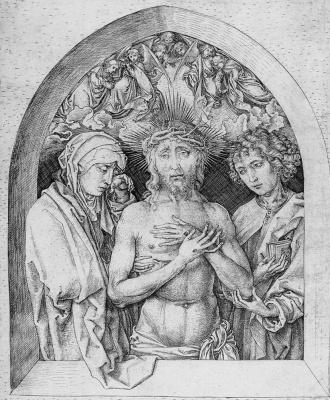 Martin Schongauer. The Savior