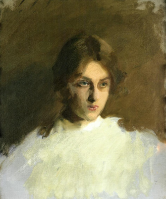 John Singer Sargent. Portrait Of Edith French
