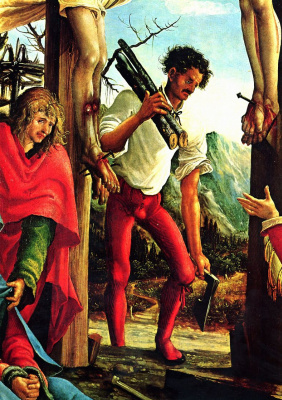 Albrecht Altdorfer. The crucifixion