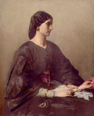Ансельм Фридрих Фейербах. Женский портрет