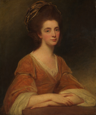 George Romney. Mrs. Charles Frederick, in the past Martha Rigden