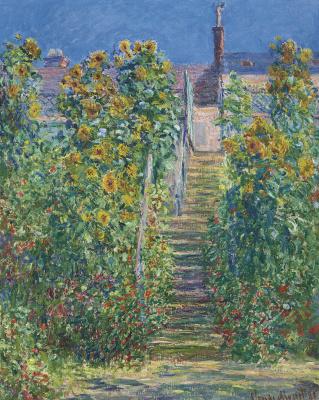 L'Escalier à Vétheuil