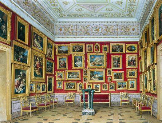 Luigi Premazzi. Interiors of the New Hermitage