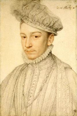 Франсуа Клуэ. Портрет Карла IX