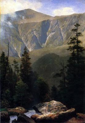 Альберт Бирштадт. Горный ландшафт