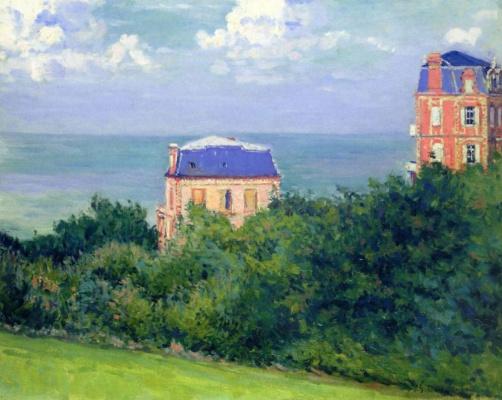 Gustave Caillebotte. Villas in Ville-sur-Mer