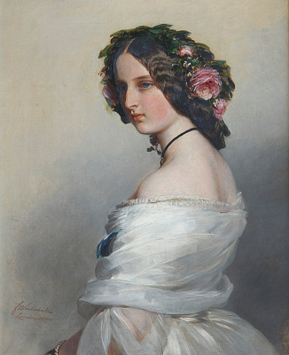 Franz Xaver Winterhalter. Lady Constance Leveson-Gower, later Duchess of Westminster