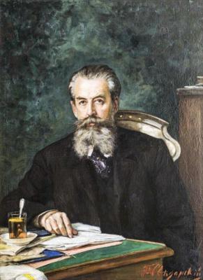 Pavel Alexandrovich Svedomsky. Portrait of Academician A.N. Veselovsky