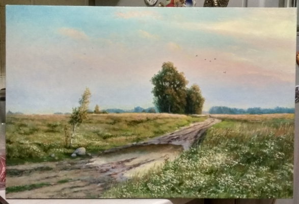 Dmitry Ivanovich Yurchenko. Road in the field
