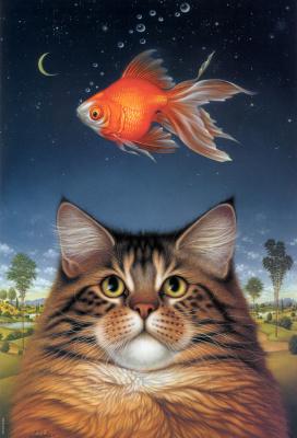 Бралдт Бралдс. Кошка и золотая рыбка