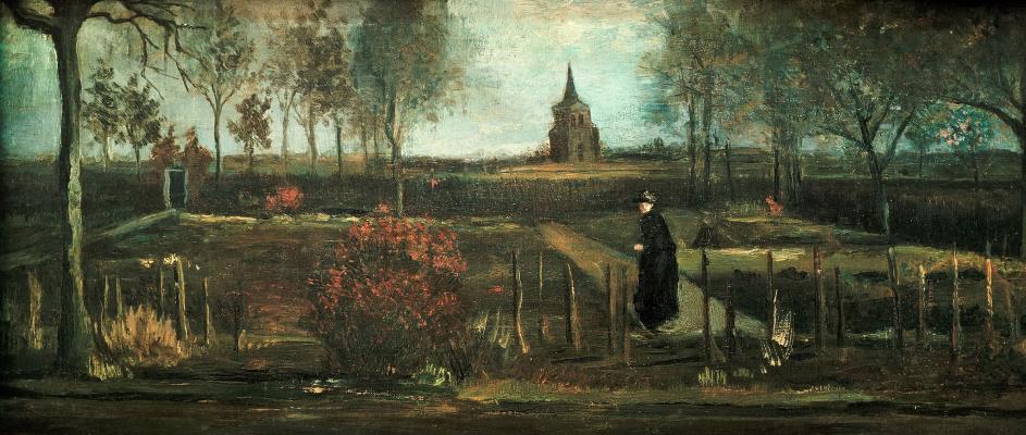 Винсент Ван Гог. Сад у дома приходского священника в Нюэнене