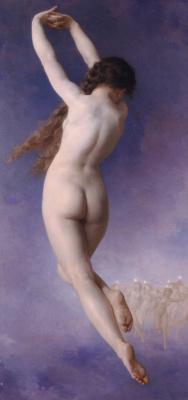 William-Adolphe Bouguereau. Lost star
