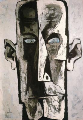 Освальдо Гуаясамин. Портрет 34