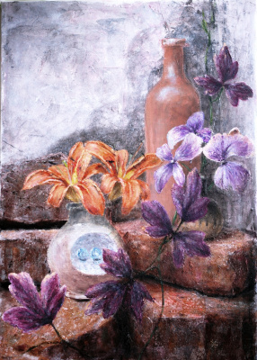 Наталия Багацкая. Still Life with Lilies