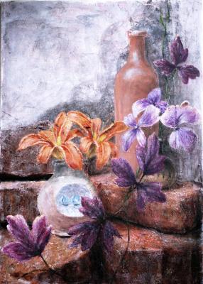 Наталия Багацкая. Still Life with Lilies