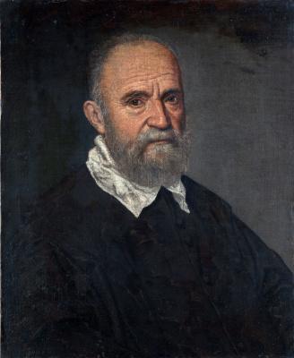 Leandro Bassano. Portrait of a bearded man