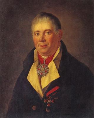 Григорий Иванович Угрюмов. Портрет И. К. Каменецкого