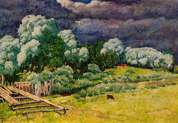Ilya Mashkov. After the storm