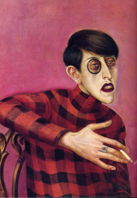 Otto Dix. Portrait of the journalist Sylvia von harden