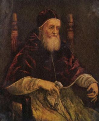 Raphael Santi. Pope Julius II