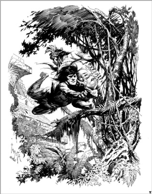 Фрэнк Фразетта. Человек-обезьяна