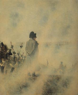 Vasily Vasilyevich Vereshchagin. Napoleon on Poklonnaya Hill in anticipation of a deputation
