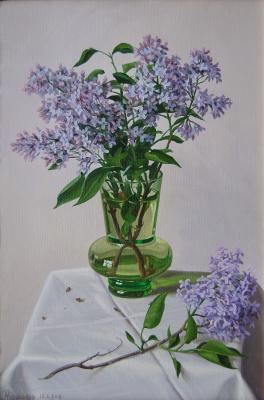 Alexander Vasilyevich Zoryukov. Lilac