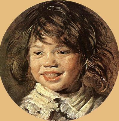 Франс Халс. Детский смех